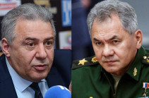Вагаршак Арутюнян и Сергей Шойгу обсудили создавшуюся в Армении ситуацию