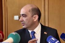Заседание Совета парламента Армении не состоялось из-за отсутствия спикера – Эдмон Марукян