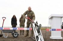 Азербайджан начал строительство международного аэропорта в Нагорном Карабахе