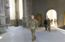 Алиев заявил, что вопрос о статусе Карабаха должен выйти из повестки