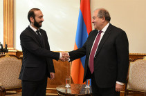 Armenia's President meets with heads of My Step, Bright Armenia factions, secretary of PAP faction