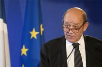 Ֆրանսիայի ԱԳՆ ղեկավարը մեկնաբանել է Հայաստանում ստեղծված իրավիճակը