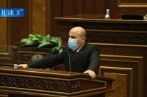 Հիմքեր կան նախագահ Արմեն Սարգսյանի պաշտոնանկության գործընթաց սկսելու համար. Վահագն Հովակիմյան