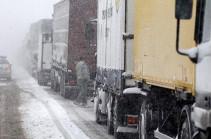 Ստեփանծմինդա-Լարս ավտոճանապարհը բաց է բոլոր տեսակի տրանսպորտային միջոցների համար․ ռուսական կողմում կուտակված է 430 բեռնատար