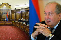 Armenia's Security Council urges President sign decree on releasing Chief of the General Staff