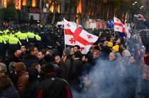 Թբիլիսիում բողոքի ցույցի ընթացքում ձերբակալվել է յոթ մարդ