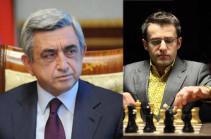 Левон Аронян сказал, что вернется, когда изменится отношение к нему – Серж Саргсян