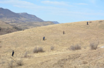 Search operations in south Artsakh give no result