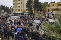 Թուրքամետ գրոհայինները կոպտորեն ճնշել են Սիրիայում իշխանամետ հանրահավաքը