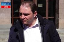 Yerevan court examines complaint against Ara Saghatelyan's arrest