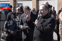 Рубен Мелконян: Подходы врага и некоторых имеющих гражданство Армении кругов – идентичны