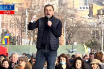 Արմեն Սարգսյանը Հայրենիքի փրկության շարժման ղեկավարների հետ հանդիպում է խնդրել. Իշխան Սաղաթելյան