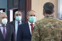 Armenia's PM meets commandership of Armed Forces (video)