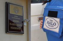 Publication about British HALO Trust organization sent to Artsakh NSS