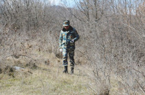 Body search operation resumes in Artsakh