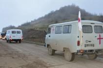 Azerbaijani side hands over to Armenian bodies of 15 servicemen