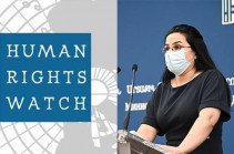 The Human Rights Watch report indicates high probability of large-scale enforced disappearances: Armenia MFA spokesperson