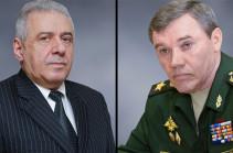 Арутюнян и Герасимов договорились о визите высокопоставленной делегации России в Армению