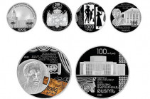 Central Bank of Armenia issued 3 collector coins