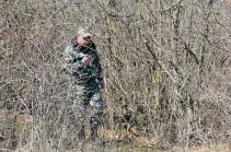 Поиск тел погибших военнослужащих на участке Шуши – Лисагор не дал результатов