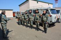 Поиск тел погибших военнослужащих продолжается сегодня в направлении села Сгнах