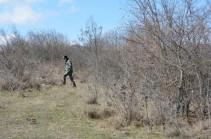 Поиск тел погибших военнослужащих в районах Джракан (Джабраил) и Варанда (Физули) вчера не дал результатов