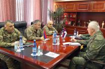 Вопросы обеспечения безопасности в Карабахе обсудили Артак Давтян и Рустам Мурадов