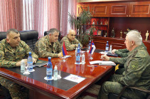 Armenian Chief of General Staff, Commander of Russian peacekeeping troops stress importance of return of Armenian captives