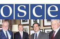 OSCE Minsk Group co-chairs cannot visit Artsakh – Edmon Marukyan