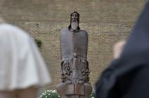 Երեք տարի առաջ Վատիկանի պարտեզներում բացվեց Գրիգոր Նարեկացու արձանը (Տեսանյութ)