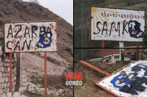 Azeri soldiers bypass Russian peacekeeping post, reach highway taking to Artsakh capital Stepanakert