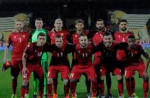 Հայաստանի ազգային հավաքականը 9 հորիզոնականով առաջադիմել է ՖԻՖԱ-ի վարկանիշային աղյուսակում