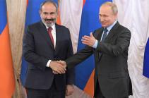 Пашинян на встрече с Путиным заявил о необходимости возвращения из Азербайджана армянских военнопленных (Видео)