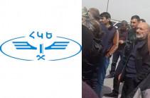 Գերիների հարազատները փակել են Երևան-Գյումրի երկաթգծի Իսահակյան-Բայանդուր հատվածը. խախտվել է ուղևորափոխադրումների գրաֆիկը. ՀԿԵ