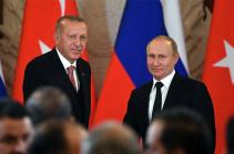 Путин и Эрдоган обсудили Карабах