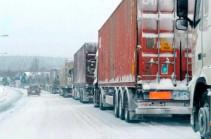 Ստեփանծմինդա-Լարս ավտոճանապարհը բաց է. ռուսական կողմում կուտակված է մոտ 480 բեռնատար