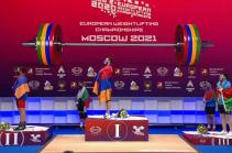 Armenian weightlifter Samvel Gasparyan becomes Europe's champion