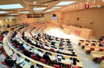 В парламенте Грузии пройдут обсуждения по Нагорному Карабаху