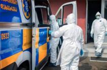 Число инфицированных коронавирусом в Грузии увеличилось за сутки на 359