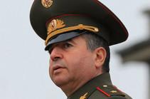 Արշակ Կարապետյանն իրավունքի ուժով նշանակվել է ՀՀ ԶՈՒ գլխավոր շտաբի պետի առաջին տեղակալ