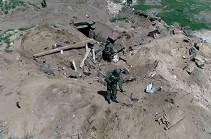 Ռուս սակրավորներն ականազերծում են Ղարաբաղի Մարտակերտի մատույցներում գյուղատնտեսական նշանակության հողերը