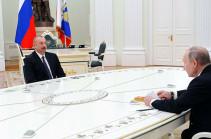 Алиев заявил, что обсуждал с Путиным информацию об обнаружении обломков ракет «Искандер-М» в Карабахе, Баку послал официальное письмо в Москву