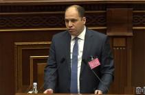 Кандидат от фракции «Мой шаг» Левон Буниатян не избран членом КРОУ