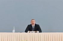 Алиев пообещал вернуться в Ереван и Зангезур