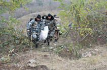 Artsakh rescuers find two bodies during search operation in Jabrayil