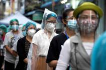 Coronavirus cases worldwide up 11% in past week