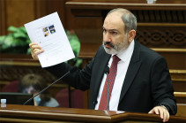 90% of report on April 2016 war state secret – Armenia's PM