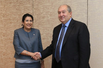 Armenia's president to pay official visit to Georgia