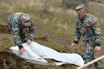 Азербайджан передал армянской стороне останки еще одного военнослужащего