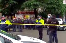 В Тбилиси задержали взявшего в заложники посетителей филиала Банка Грузии